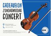 Muziek in Waddinxveen cadeaubon