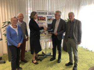 Jaarprogramma 2019/2020 aangeboden aan de wethouder van kunst en cultuur van de gemeente Waddinxveen