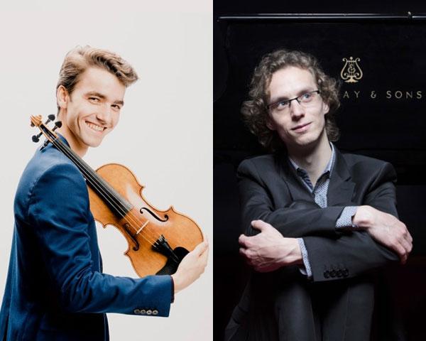 Tobias Borsboom (piano) en Pieter van Loenen (viool)